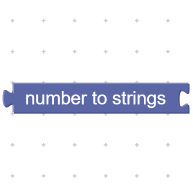 Number to strings